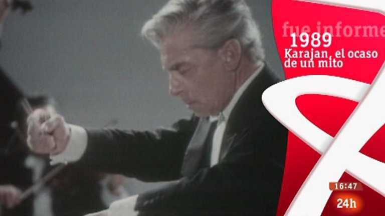 Fue Informe - Karajan, el ocaso de un mito (1989)