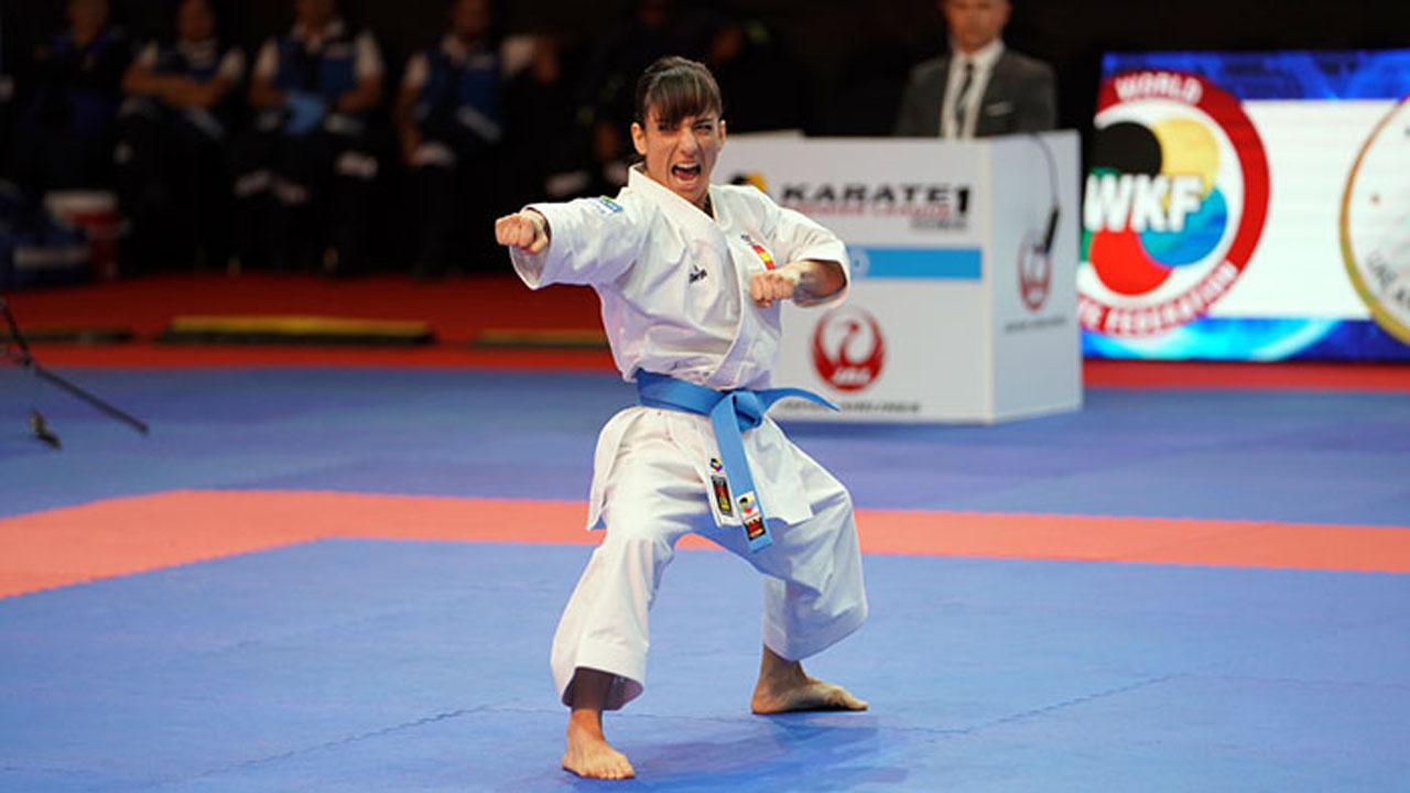Kárate: Sandra Sánchez, oro en Dubai
