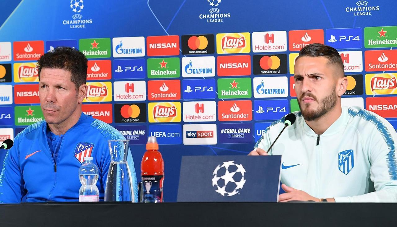 """Koke, en la víspera de medirse a la Juve: """"Va a ser como una guerra"""""""