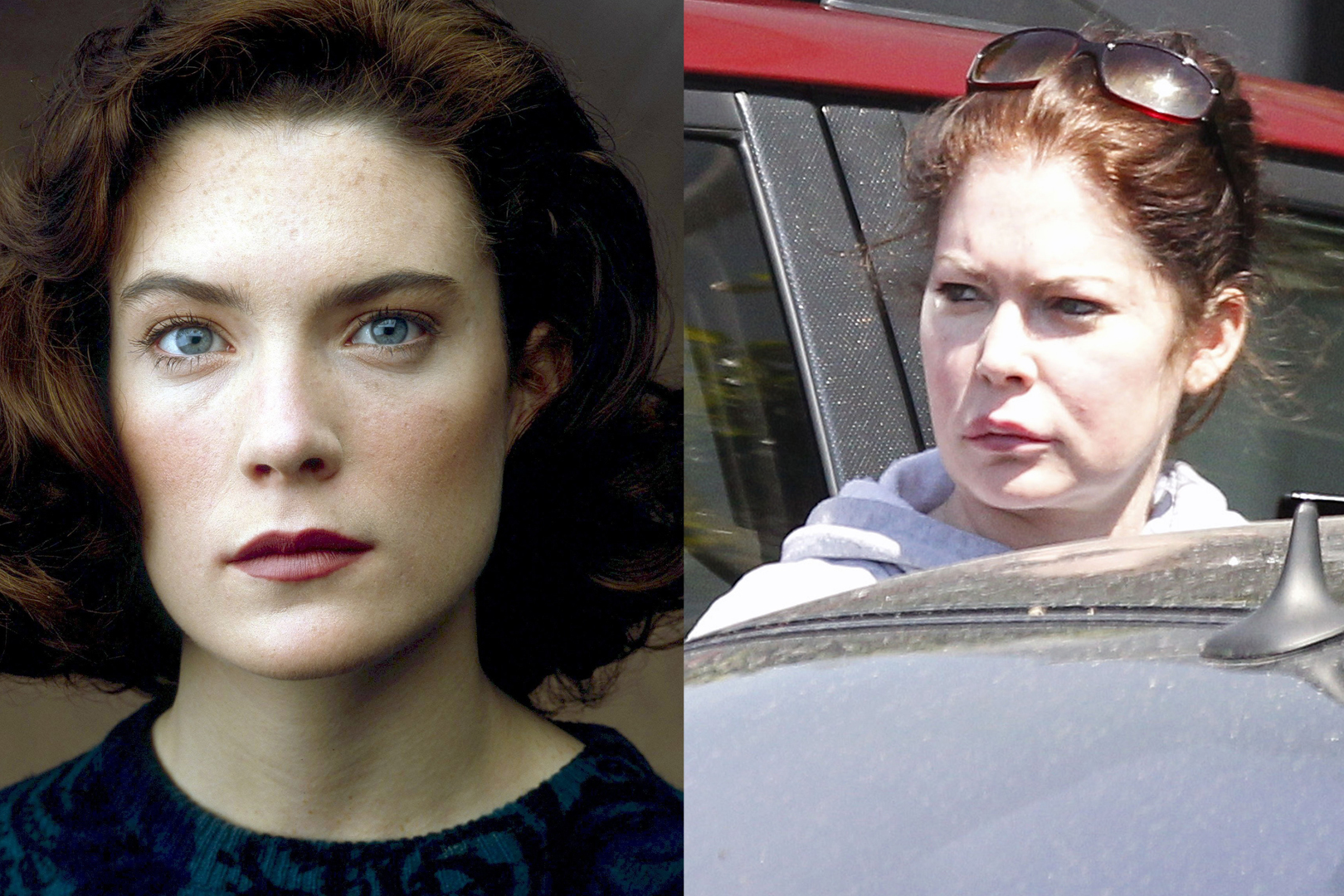 Lara Flynn Boyle foi Donna Hayward en 'Twin Picos ''Twin Peaks'