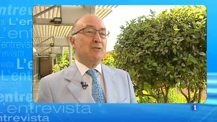 L'Entrevista de l'Informatiu Cap de Setmana - 19/07/2014