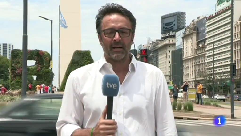 Libertadores: Buenos Aires, expectante ante la final River-Boca en Madrid