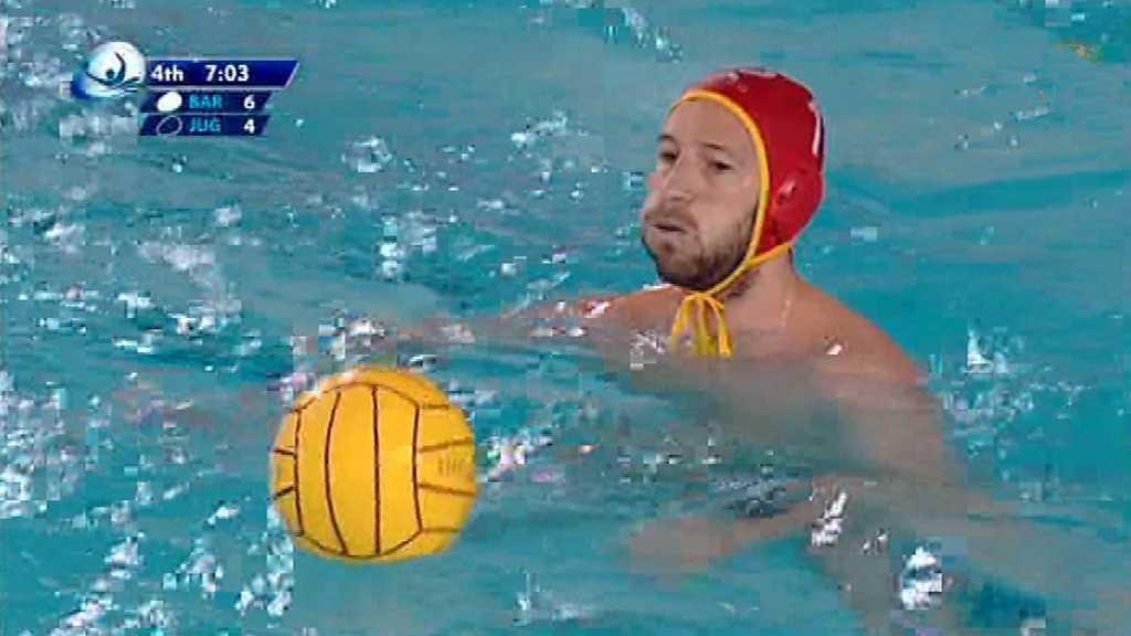 Waterpolo - Liga Europea Masculina 11ª jornada: CN AT. Barceloneta - JUG Dubrovnik
