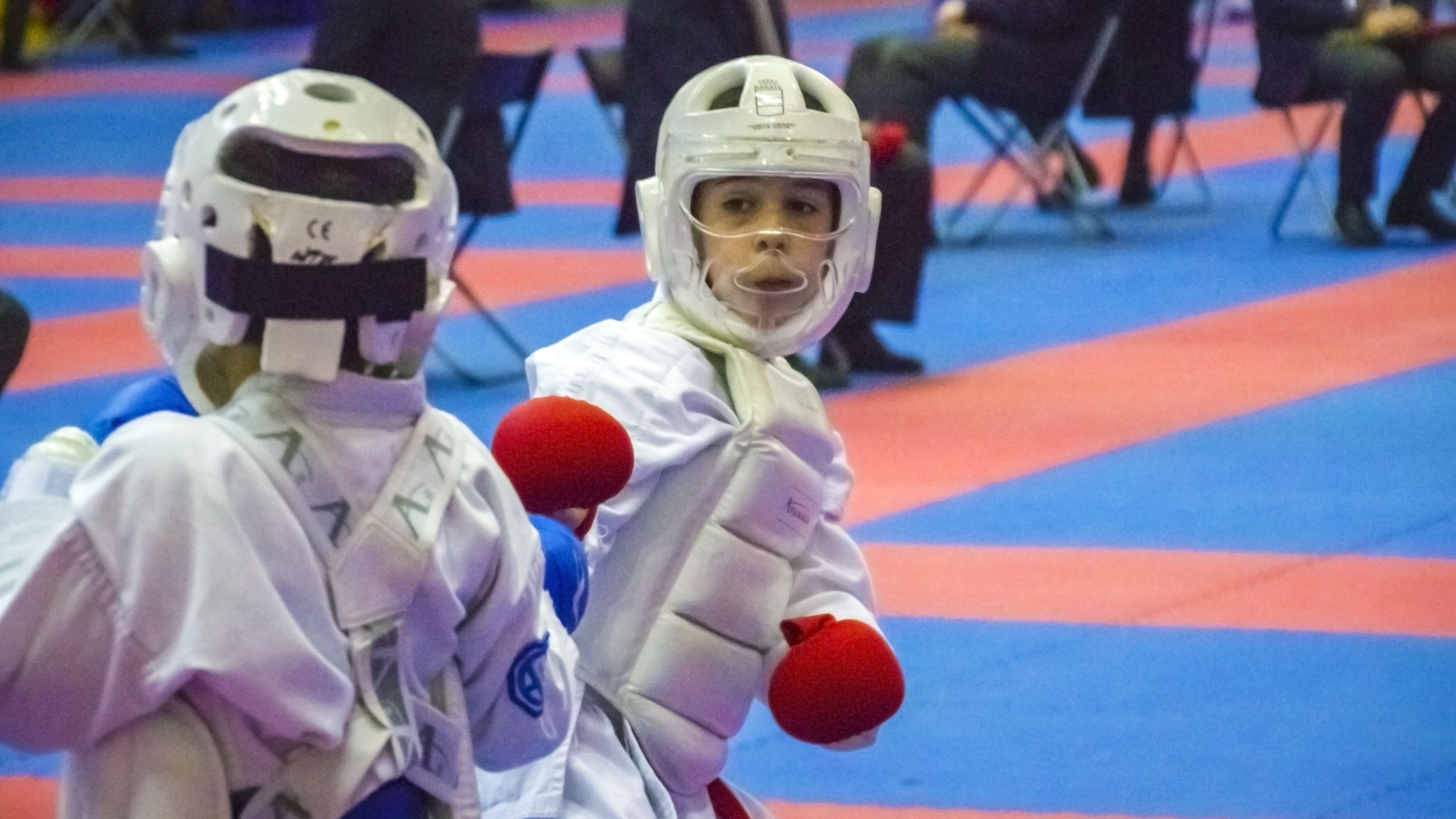 Liga Nacional Masculina de Kárate categorías infantiles. Arganda del Rey 19 de enero 2019
