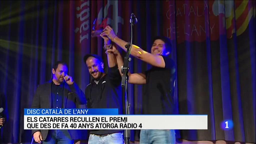 Els Catarres reben el Disc català de l'any de Ràdio 4