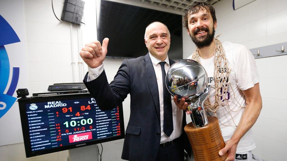Llull y Laso, claves en la liga número 33 del Madrid