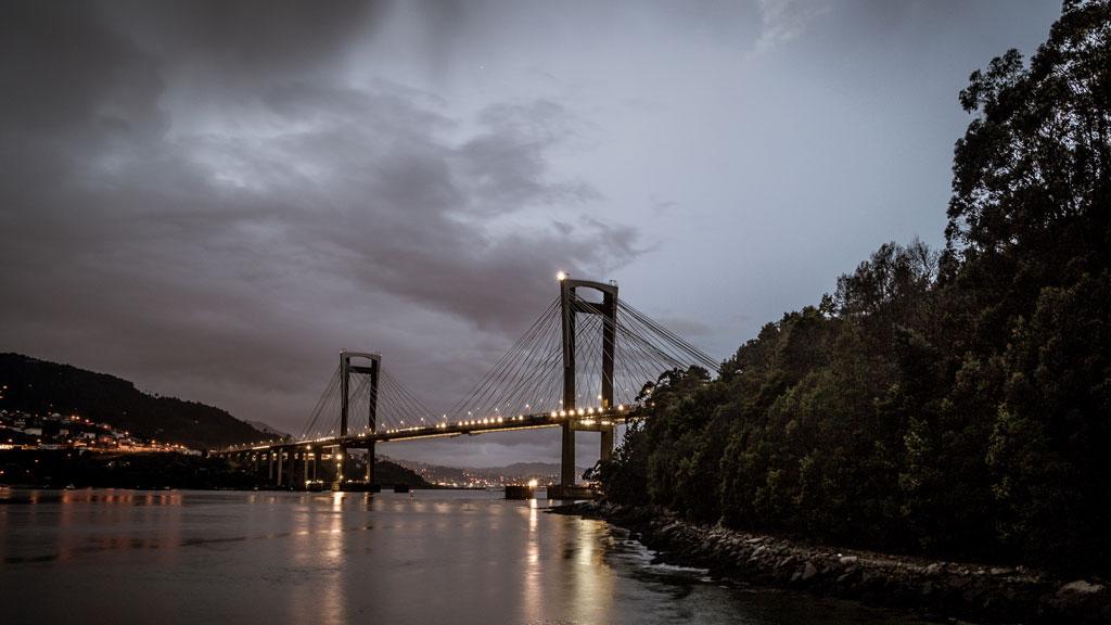 Lluvias persistentes en el oeste de Galicia