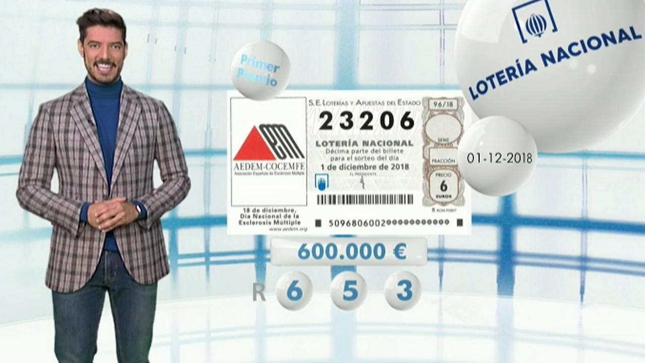 Lotería Nacional - 01/12/18