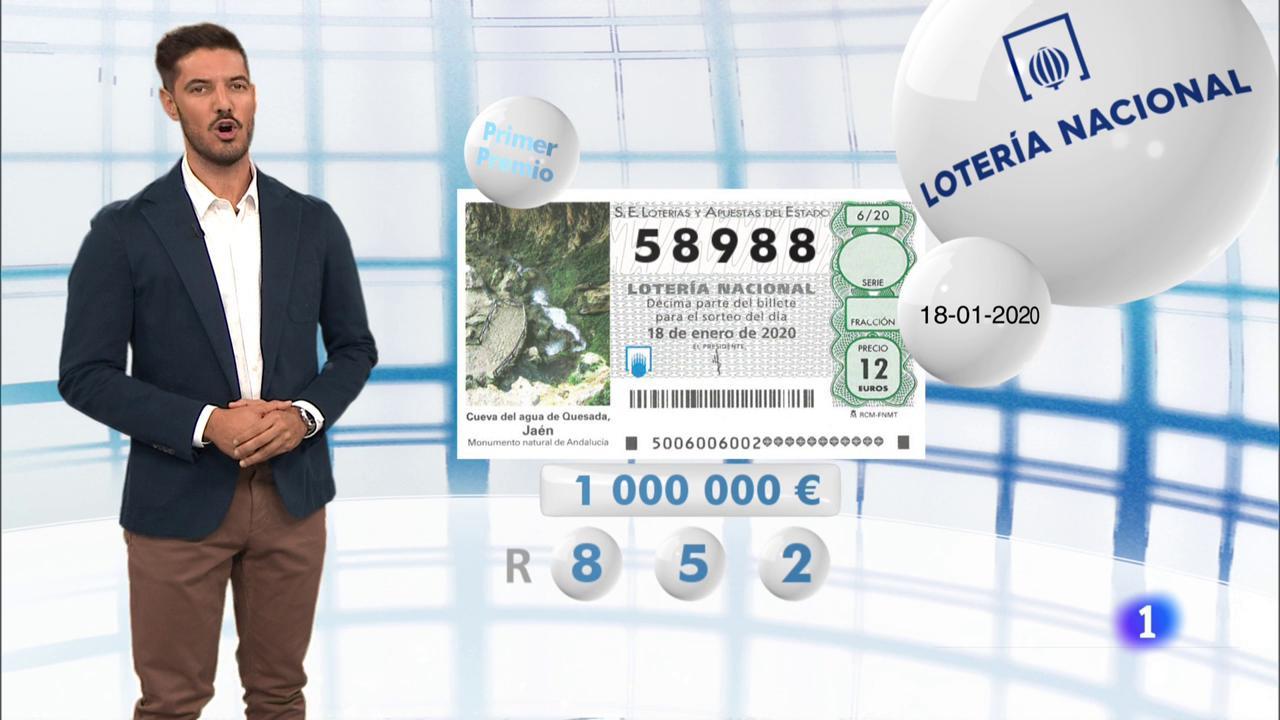 Lotería Nacional - 18/01/20
