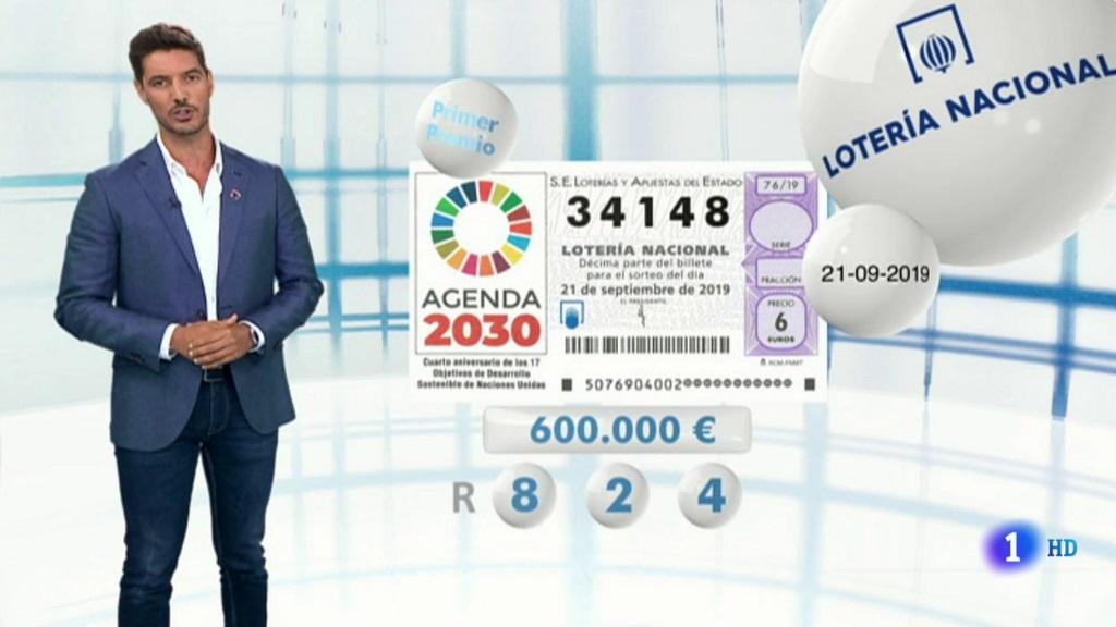 Lotería Nacional - 21/09/19
