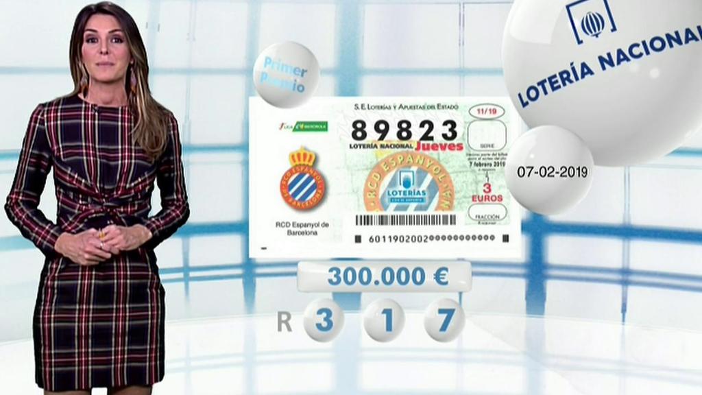 Lotería Nacional + La Primitiva + Bonoloto - 07/02/19
