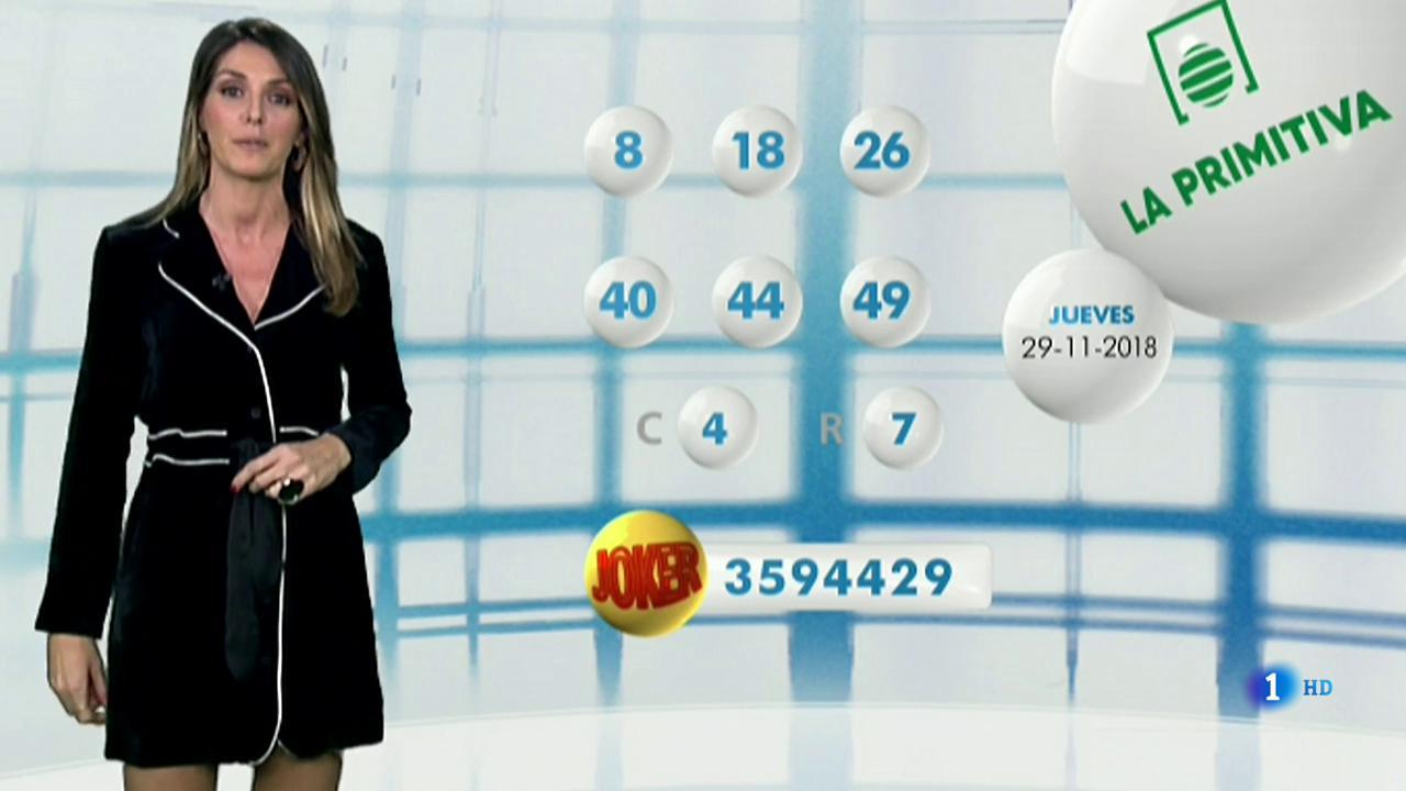 Lotería Nacional + La Primitiva + Bonoloto - 29/11/18