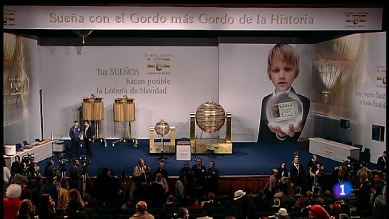 Especial informativo - Sorteo de la Lotería de Navidad 2011 - Primera hora