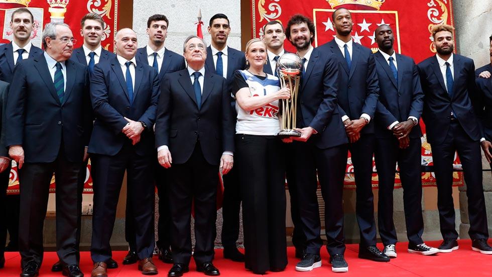El Madrid festaja la Copa por cuarto año consecutivo