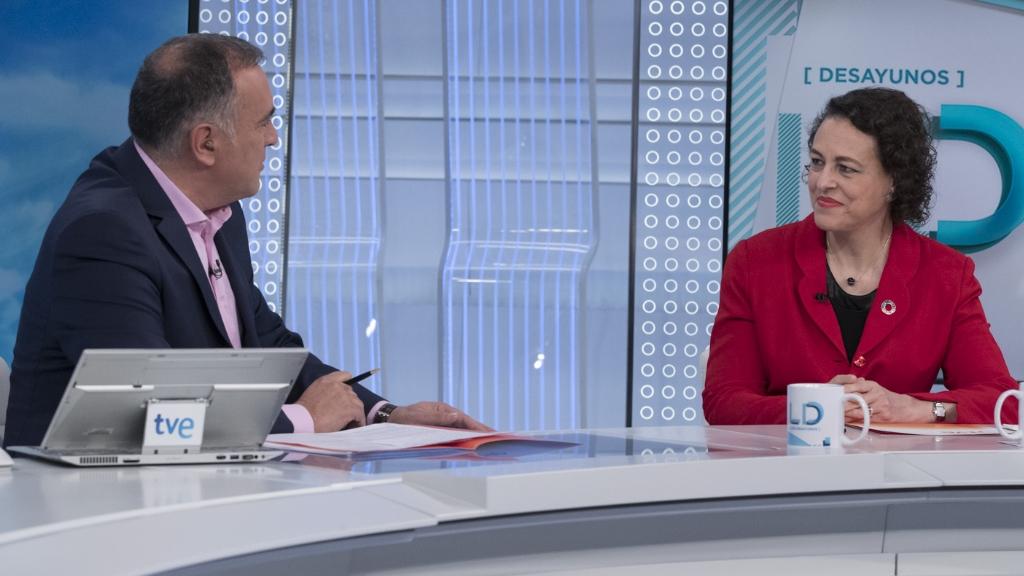Los desayunos de TVE - Magdalena Valerio, ministra de Trabajo, Migraciones y Seguridad Social