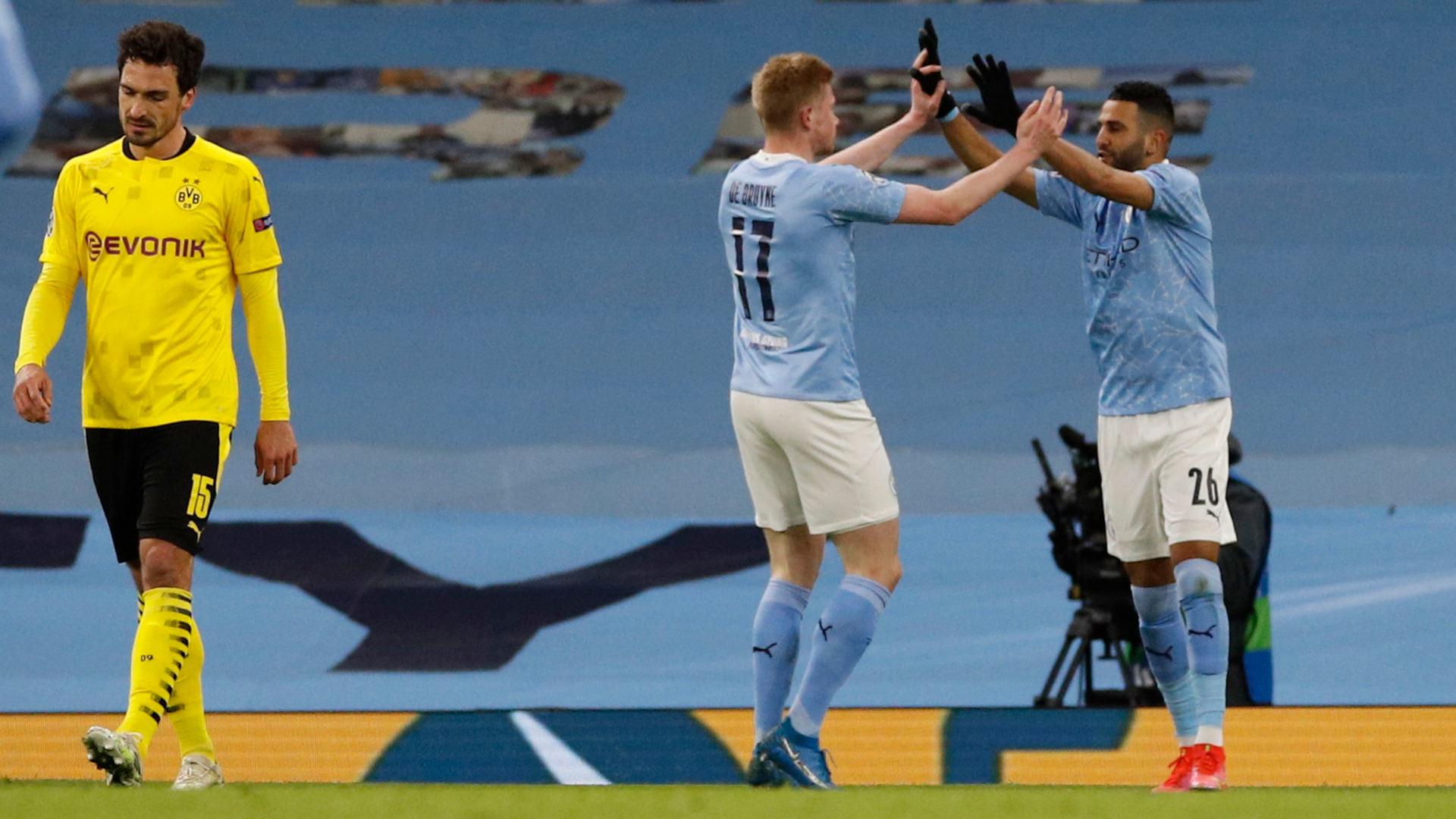 Manchester City vs Borussia Dortmund (Highlights ...  |Man City-dortmund