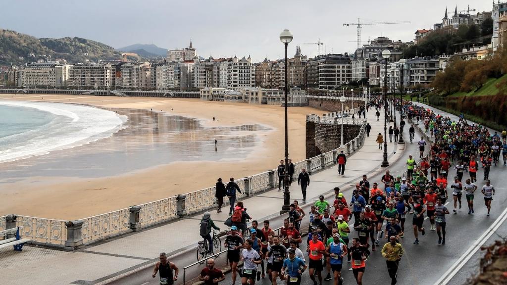 Atletismo - Maratón Internacional de San Sebastián 2018