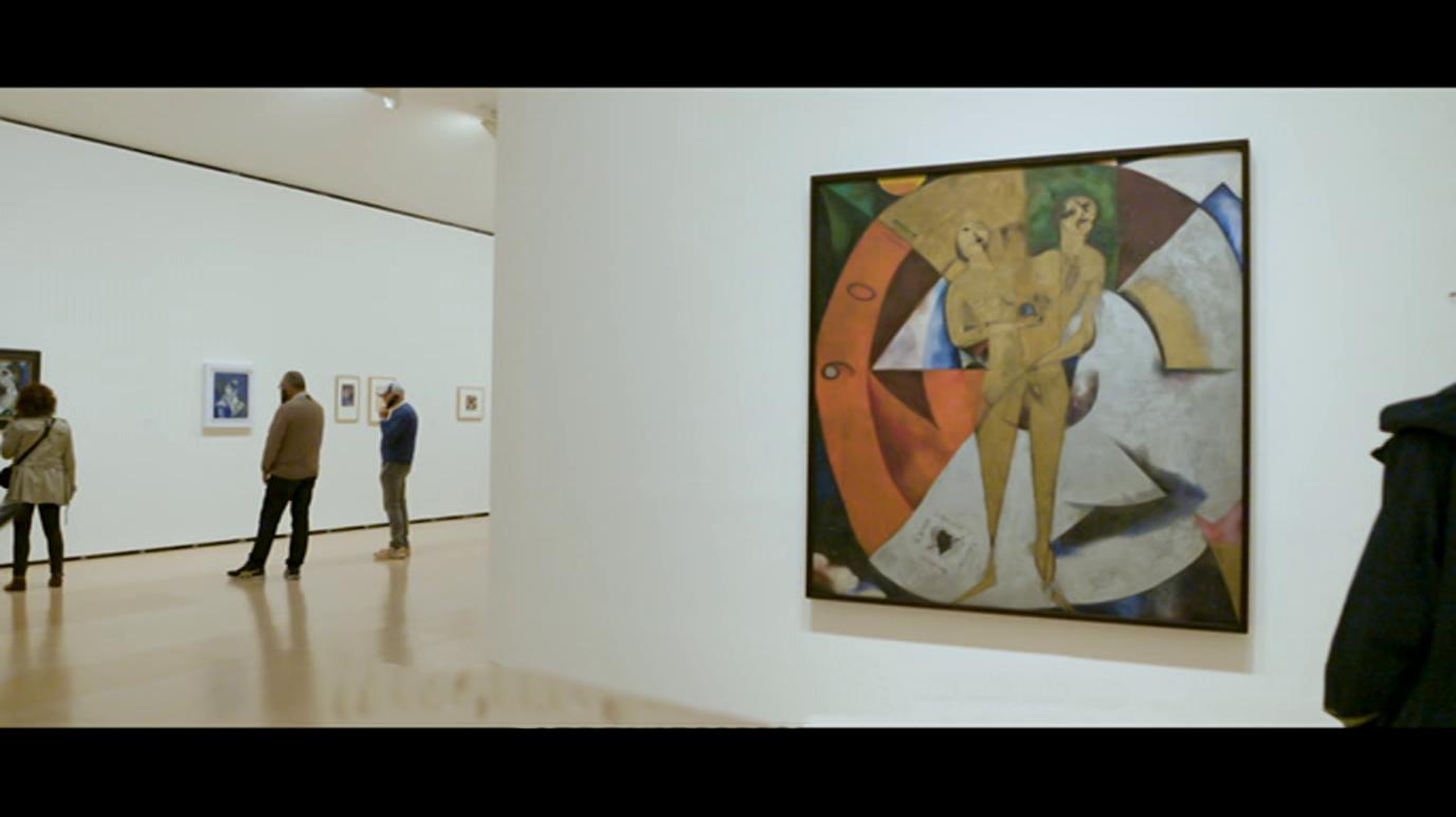 La Sala. Guggenheim - Marc Chagall