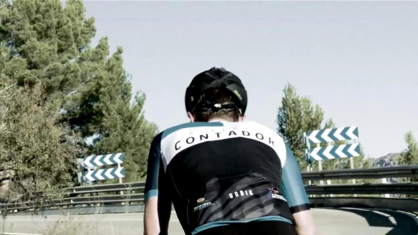 Ciclismo - Marcha Alberto Contador  2018