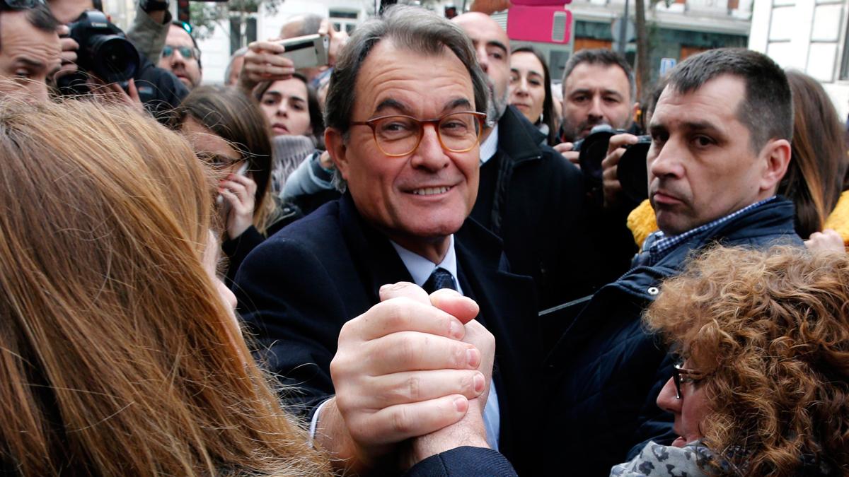 """Artur Mas, ante el juez del Supremo: """"La declaración de independencia tuvo un valor simbólico"""""""