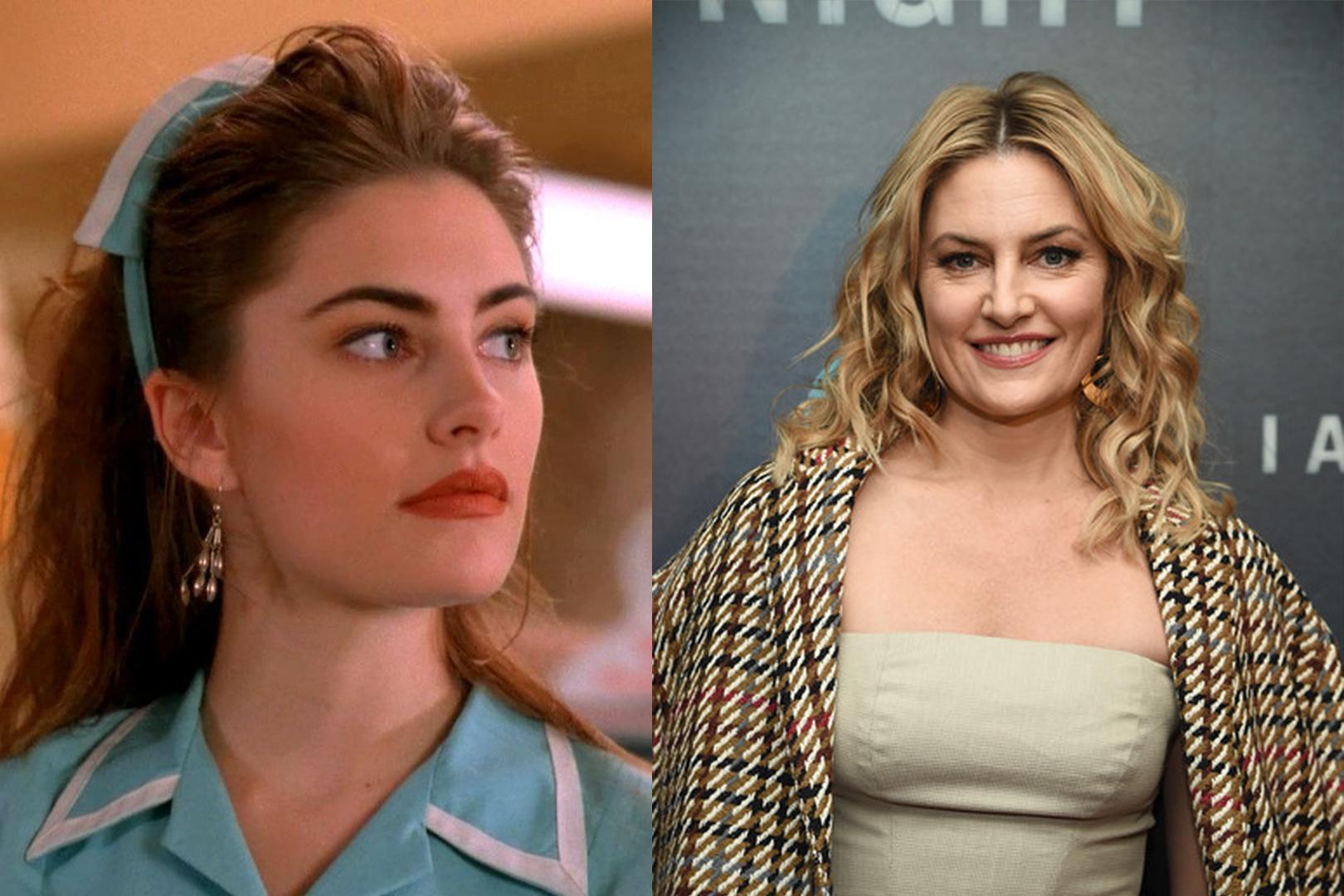 mädchen amick jogou Shelly Johnson em 'gêmeos''Twin Peaks'