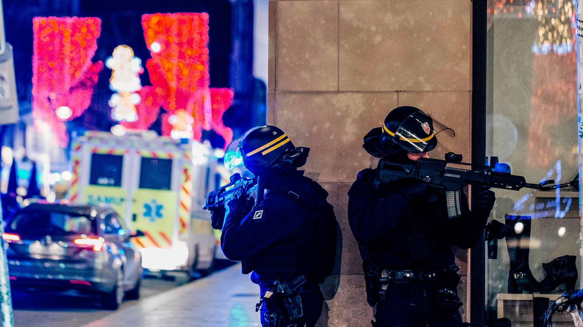Al menos cuatro muertos y siete heridos en un tiroteo en el centro de Estrasburgo