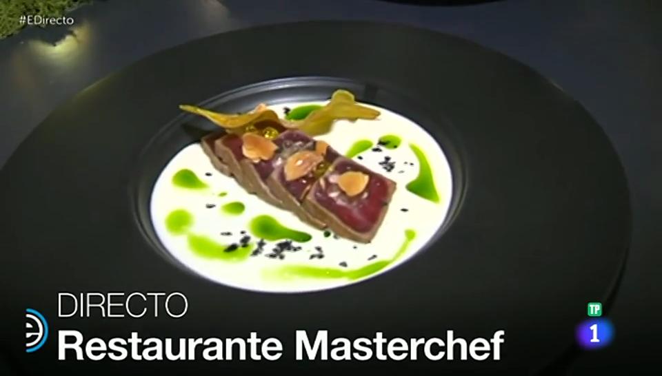 El menú solidario del 'Restaurante MasterChef'