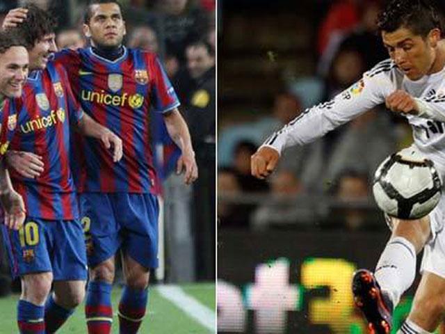 Messi y CR9, máquinas casi perfectas