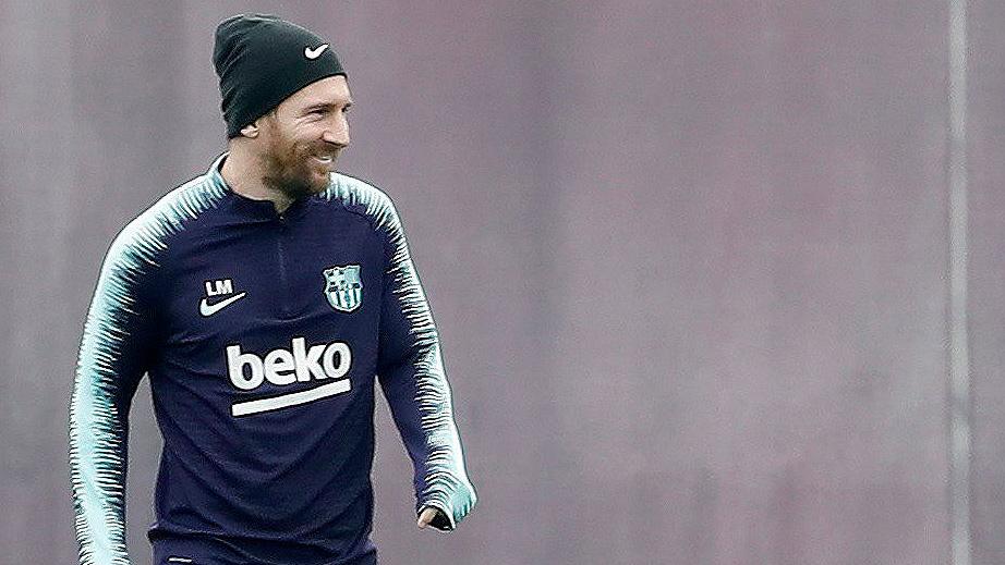 Messi entra en la convocatoria de Champions