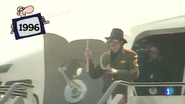 Michael Jackson en Zaragoza