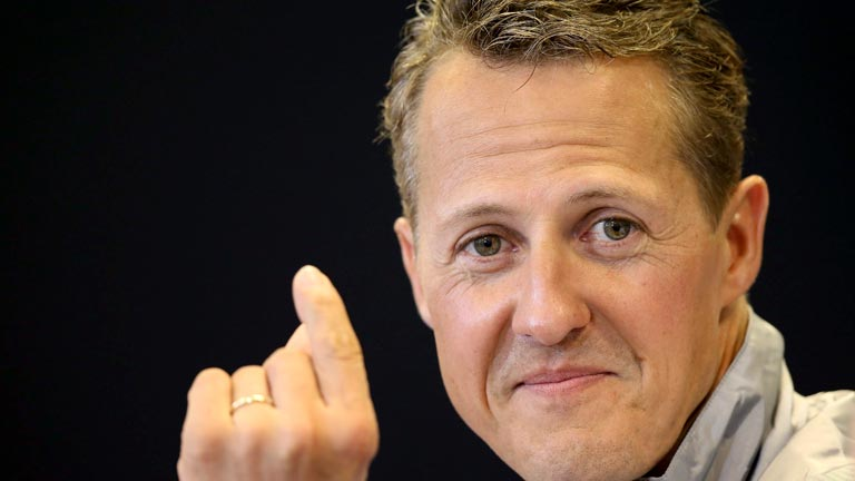 Michael Schumacher, siete veces campeón en Fórmula 1