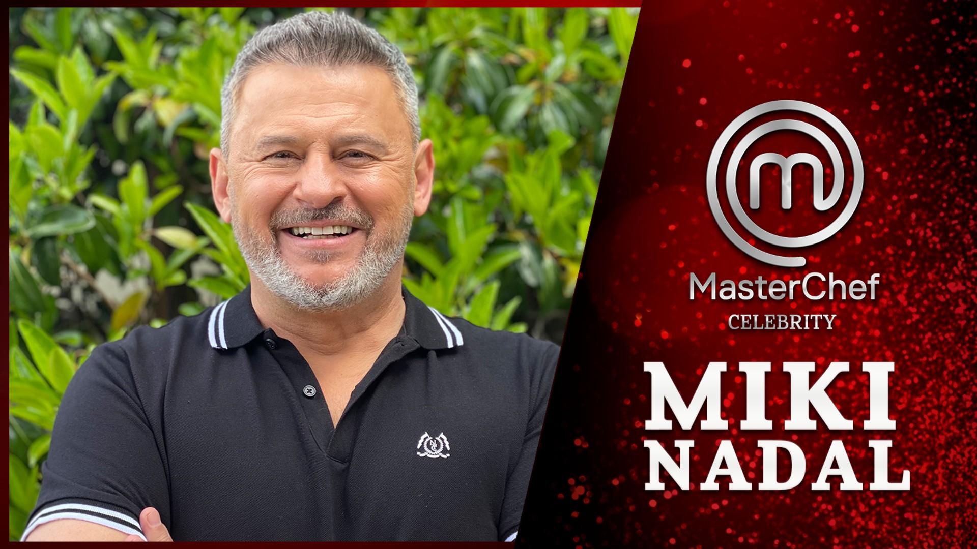 Miki Nadal, en Masterchef Celebrity 6
