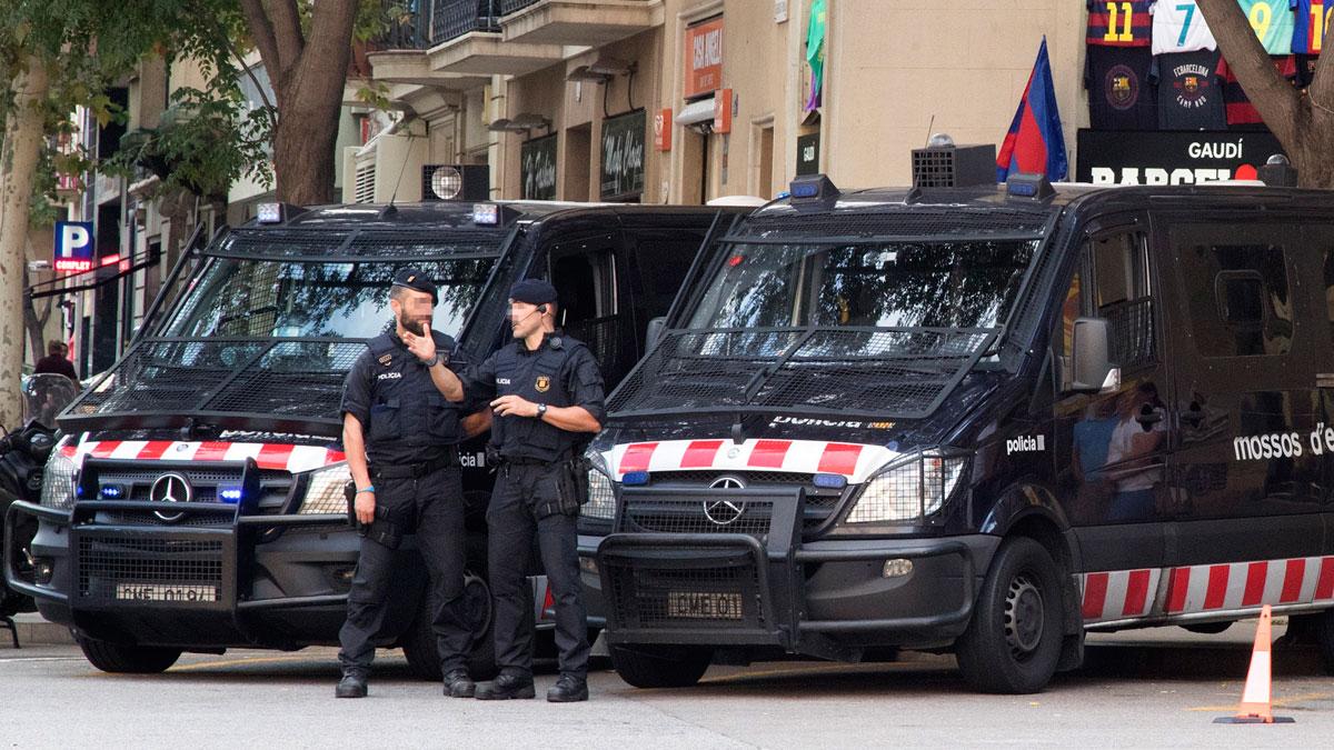 Los Mossos utilizarán gas pimienta como medida antidisturbios en las manifestaciones