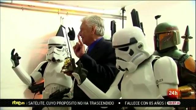 Muere David Prowse, el actor que interpretó a Darth Vader en la trilogía original de 'Star Wars'