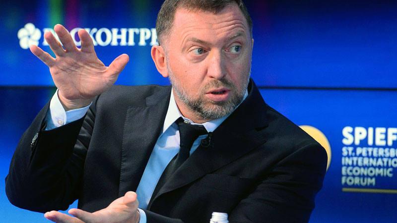 El multimillonario ruso Oleg Deripaska, propietario del gigante ruso del aluminio Rusal