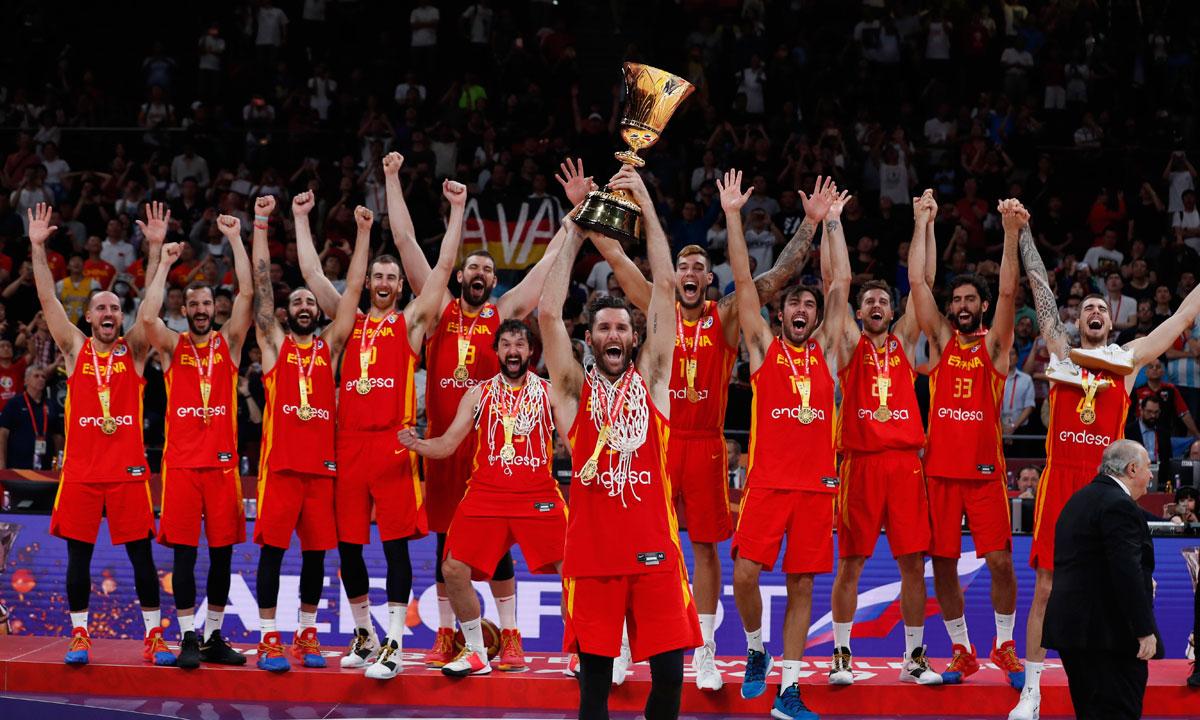 Segundo campeonato del mundo ganado por España en 2019. Nos enseñaron el camino para ganar