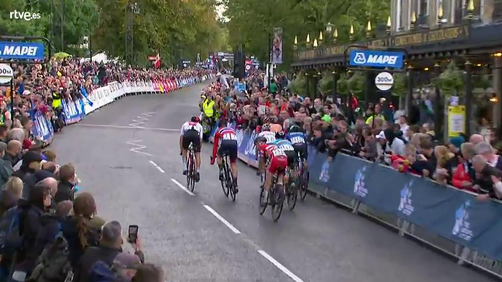 Mundial de Ciclismo   Batistella, campeón del mundo en ruta sub'23