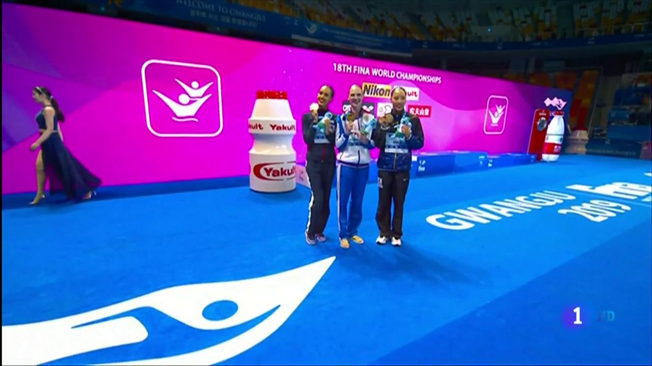 Mundial Natación 2019: Ona Carbonell logra una plata en el solo libre