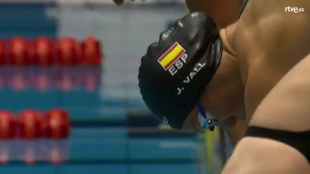 Natación   Jessica Vall, oro en 100 metros braza