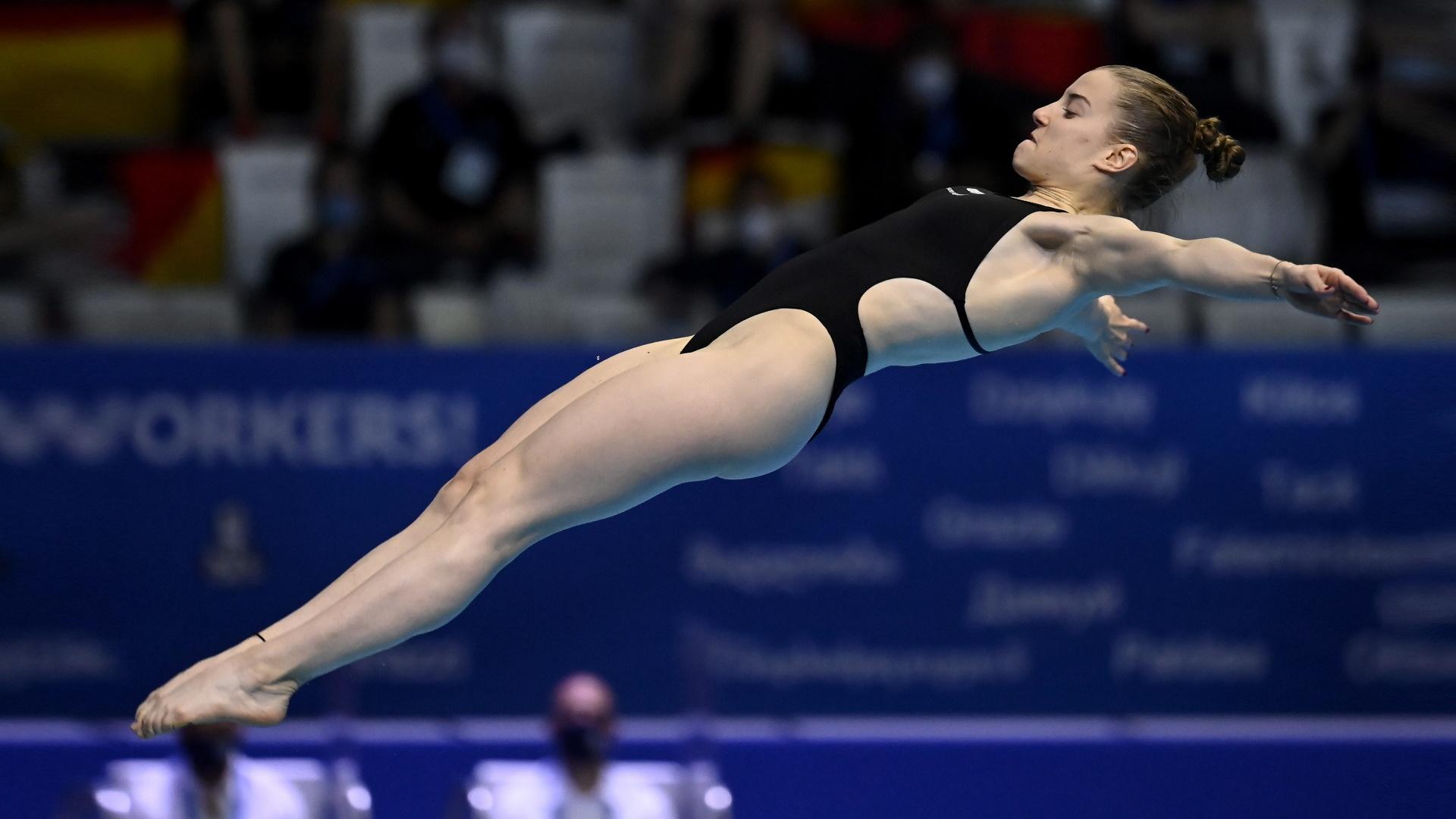 Campeonato de Europa. Saltos: Final 3 m femenino