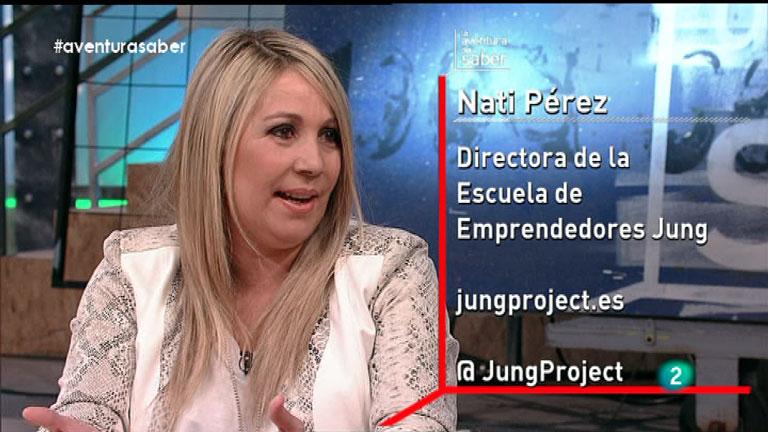 La Aventura del Saber. Nati Pérez. Escuela de Emprendedores.