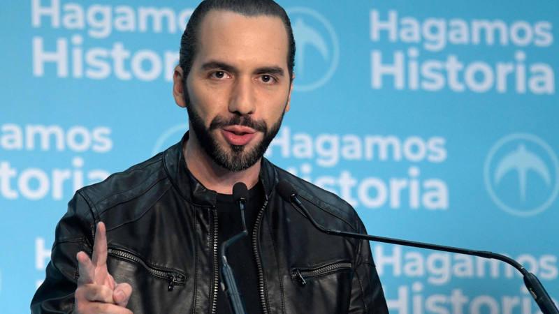 Elecciones El Salvador: Nayib Bukele gana los comicios presidenciales de El  Salvador - RTVE.es