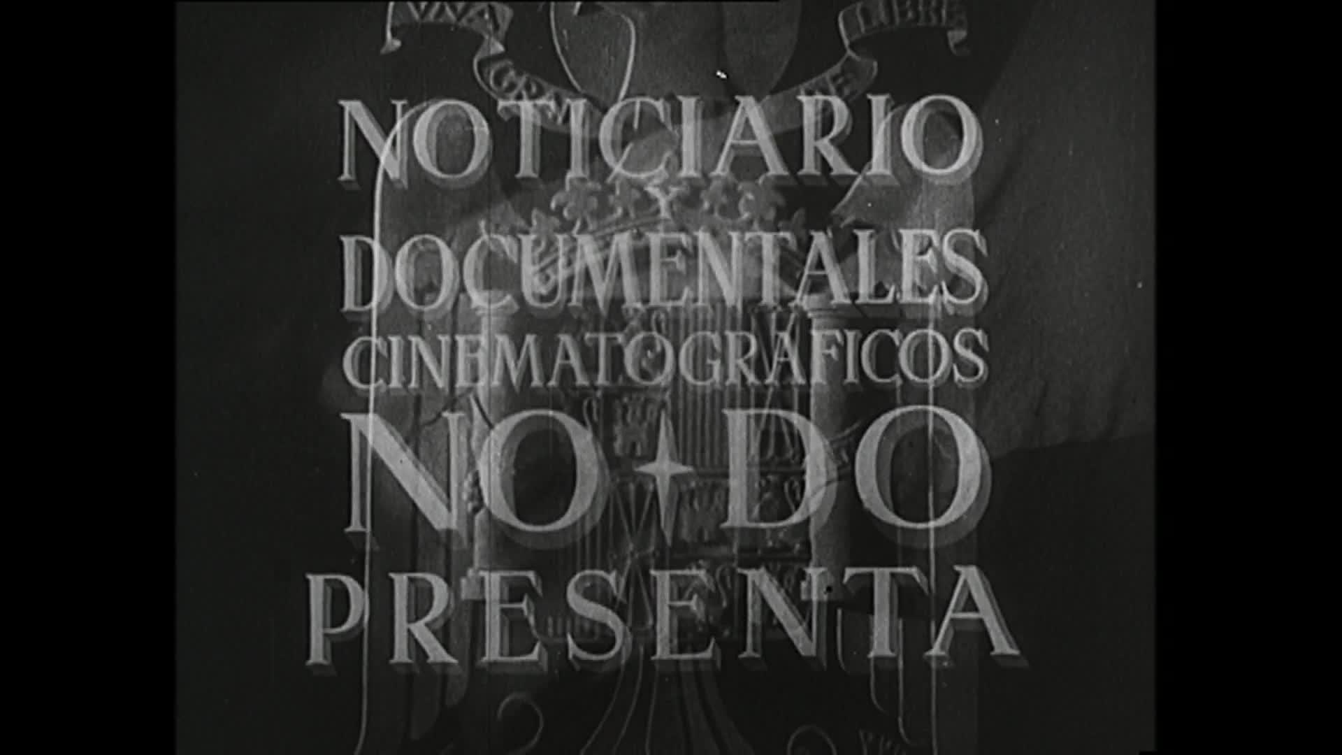 Imagen noticiero del 14-01-1952