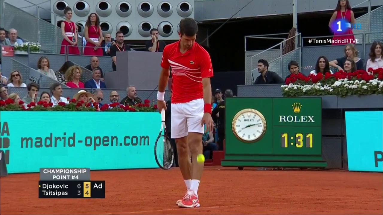 Novak Djokovic logra su tercer Madrid Open