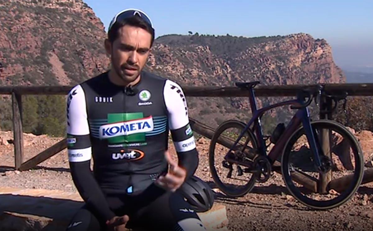 El nuevo objetivo de Contador: Bicis para la vida