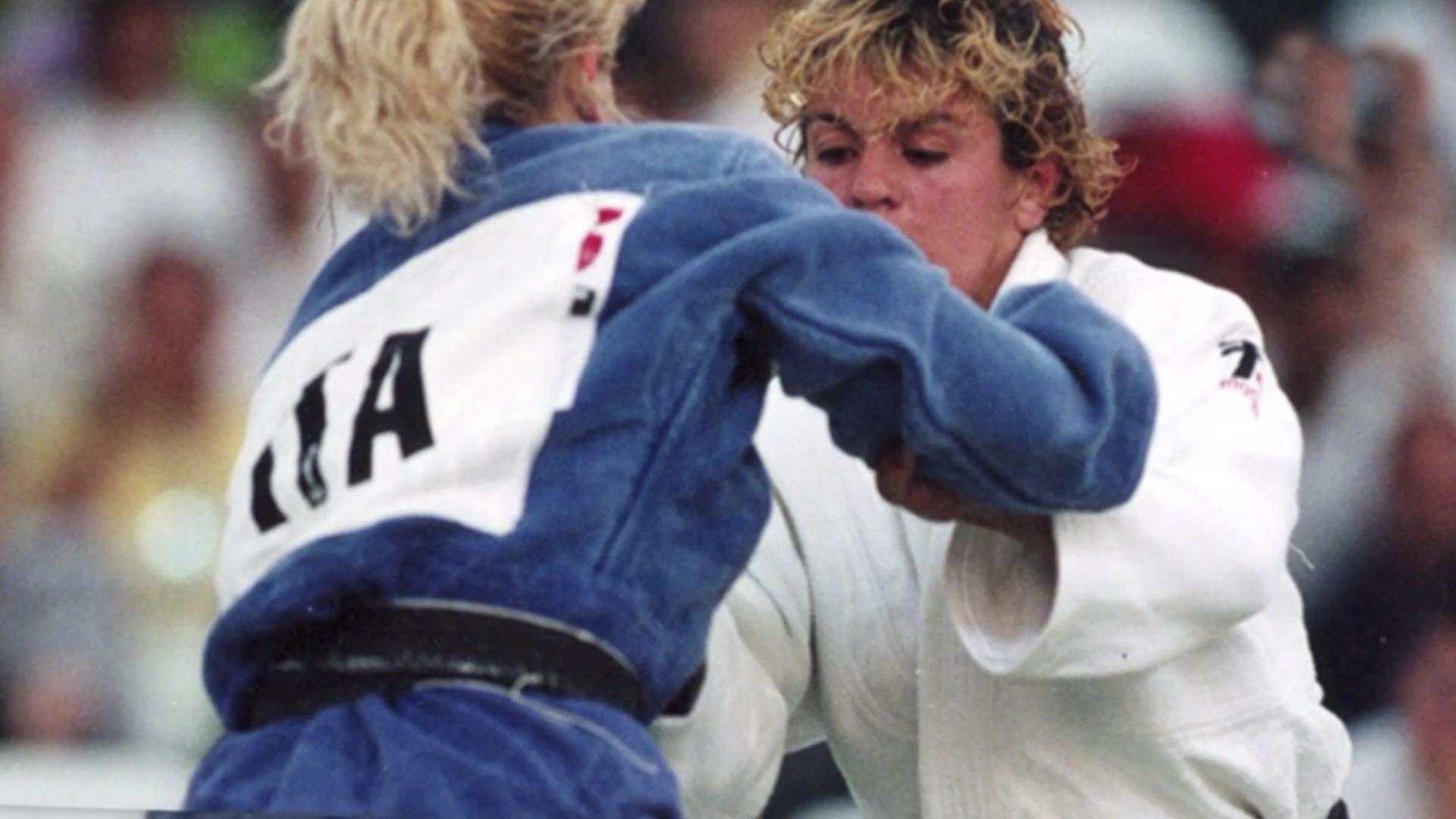 Judo. Almudena Muñoz y Yolanda Soler