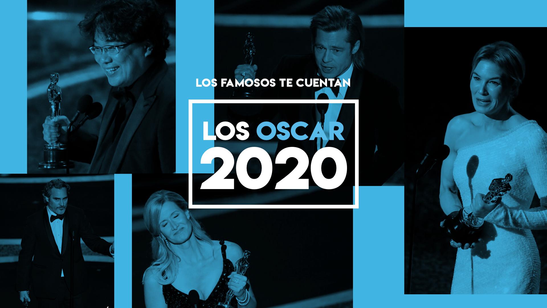 Los Oscar 2020, contados por los famosos en sus redes