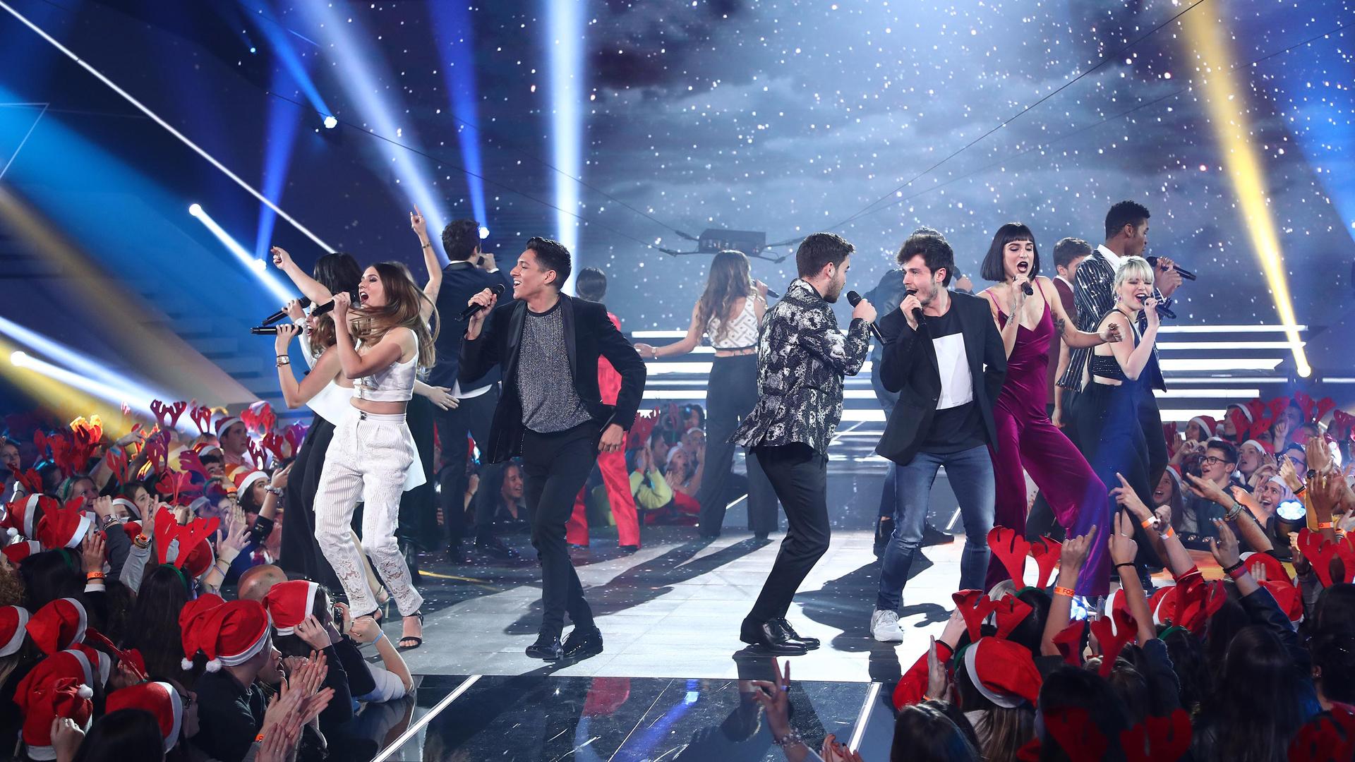 "OT 2018 - 'OT 2018' canta ""Buenas noches"" en la gala de Navidad"