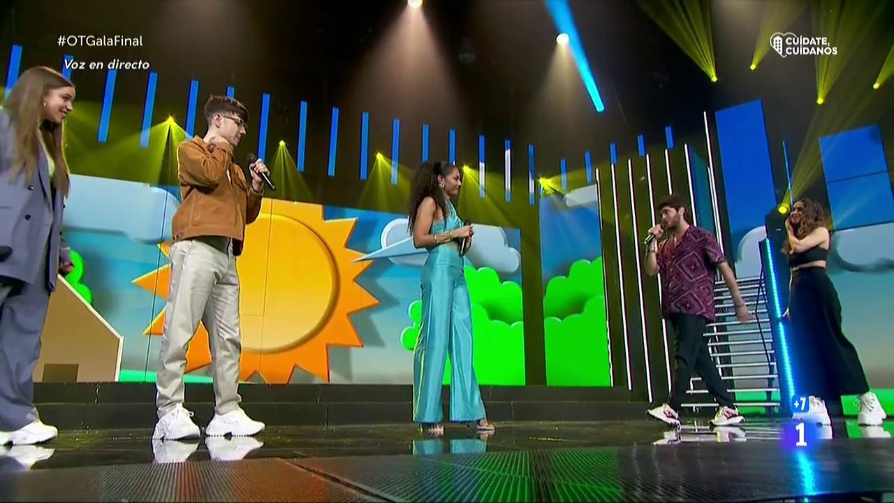 """OT 2020 canta """"Díselo a la vida"""" en la Gala Final"""