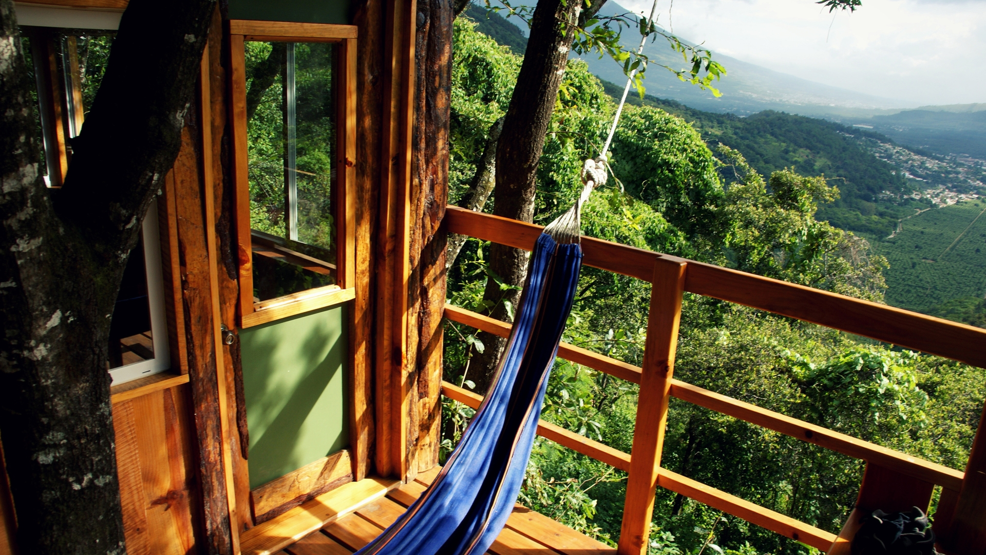 Construcciones ecológicas: Dormir en los árboles